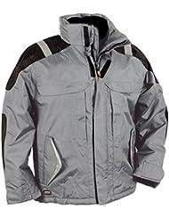 Cofra 40-00V02201-46 - Chaqueta impermeable, color gris, talla 46
