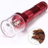 Beito Électrique Allloy Metal Grinder Crusher Crank Tobacco Smoke Spice Herb Muller Rouge