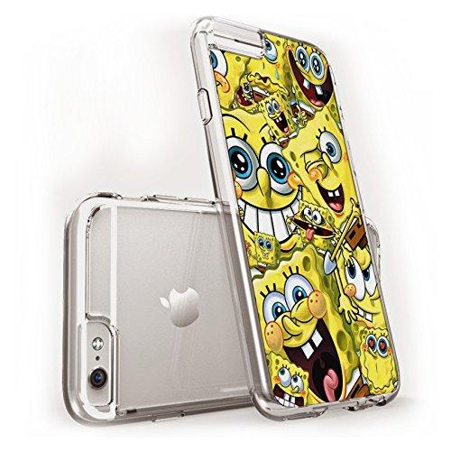 Coque souple en TPU motif Dessins animés Disney pour Apple Iphone 6 / 6s / 6Plus / 6sPlus, plastique, SPONGEBOB, APPLE IPHONE .6