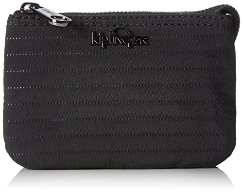 Kipling - Creativity S, Monederos Mujer, Schwarz (Matt Black), One Size