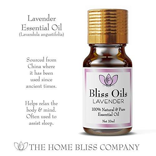Bliss Öle Aromatherapie, ätherische Öle 100 % naturrein - 6