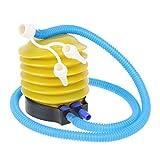 Amazingdeal365 Flexibles Rohr Ballons Schwimmreifen Fuß Luftpumpe ,Hand Fuß Presse für schneller fertig Fest Ballon oder Hochzeit Party
