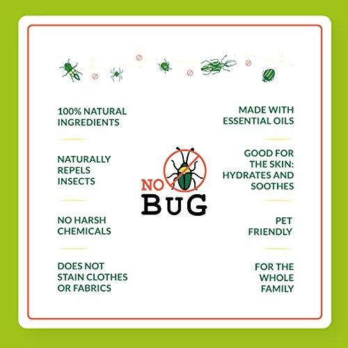 Zoom IMG-3 nobug repellente zanzare spray naturale