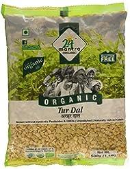 24 Mantra Organic Toor Dal, 500g