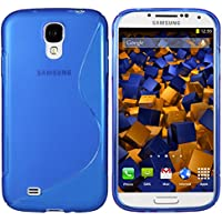 mumbi S-TPU Schutzhülle für Samsung Galaxy S4 Hülle blau