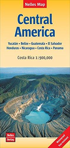 Central America Yucatan - Belize - Guatemala 2018 (Nelles Map) por Nelles