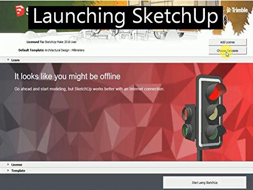 Launching SketchUp