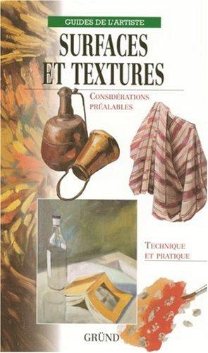 Surfaces et textures