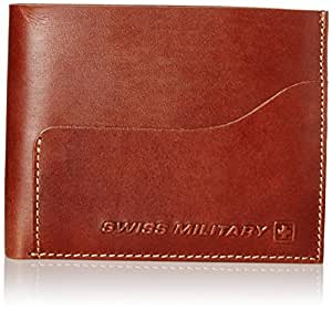 Swiss Military Brown Leather Wallet (LW-17)