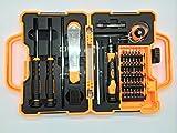 JM-8139, New 45 en 1 tournevis de précision Torx Kit de réparation Outils d'ouverture pour les téléphones portables ordinateurs portables tables modèles informatiques électronique de bricolage Bijoux Lunettes et autres appareils ménagers