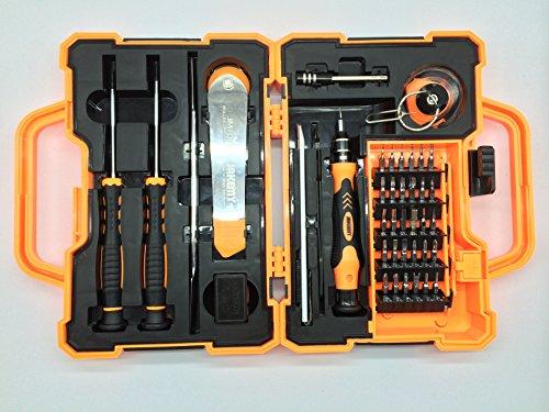 Preisvergleich Produktbild JM-8139, Vinabty 45 in 1 Przision-Torx-Schraubendreher Reparaturgepaeck, Erffnungs Werkzeuge f¨¹r Handys, Laptops, Tablets und Computer