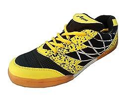 Aqua Sports Unisex Black Badminton Shoes(Size 11 UK/IND)