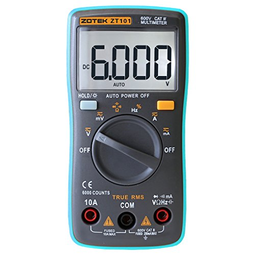 Babysbreath Portable Digital Multimeter Auto Range Strom Spannung Test 6000 ZÄHLER