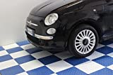 Boden Fliese weiß PP X Werkstatt Auto Moto Terrassenfliesen antiolio-SOGI pav-01-bi