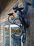 Antikas - Kerzenleuchter, Wand, Kerzenhalter, Wandleuchter, Mittelalter, Drache