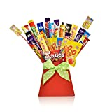 Bouquet of Retro Sweets and Chocolate - Unique Food...