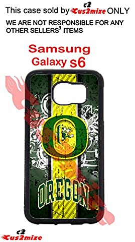 Université de l'Oregon Ducks Coque rigide Samsung Galaxy S6Coque en silicone