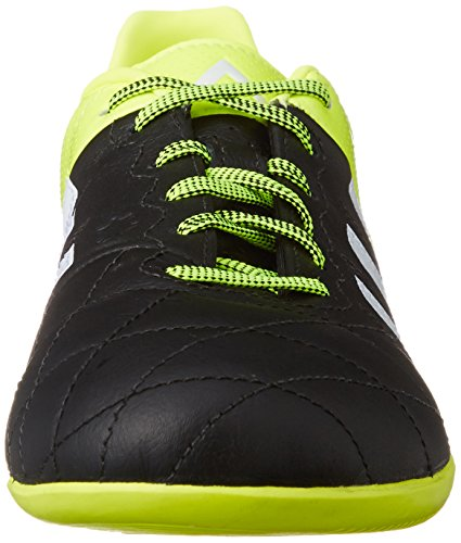 adidas Ace15.3 In, Chaussures de football homme Multicolore (Black / Green / White)