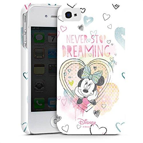 Apple iPhone 7 Plus Tasche Hülle Flip Case Disney Minnie Mouse Fanartikel Geschenke Premium Case glänzend