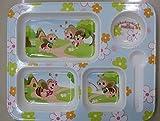 MASOOM KIDS DINNER PLATE 5 PART HONEY BE...