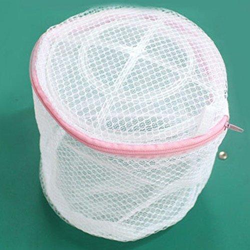 Waschen Net (EMVANV 1150x 150mm Kleidung Waschmaschine Wäschesäcke BH Hilfe Strumpfwaren Shirt Socke Lingerie Saver Mesh Net Waschen Tasche Tasche Korb)