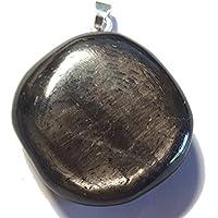 KRIO® - schöner großer Hypersthen Anhänger mit Silberöse preisvergleich bei billige-tabletten.eu