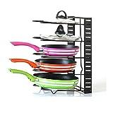 AcornFort - Organizador de 5 niveles para la cocina - estantería para  almacenar sartenes - color ccb69a6a2ae5