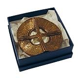 Kreuz stehend »Kreuz durchbrochen« aus Bronze