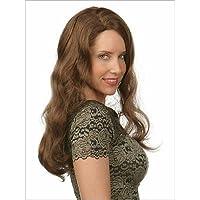 estensioni delle parrucche dell'onda capelli sintetici marroni bello stile e di alta qualità , brown