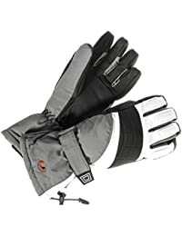 Ultrasport Men's Functional Ski/Snowboard Gloves with Thinsulate Insulation and Ultraflow 10.000
