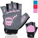 NetroxSports Trainingshandschuhe für Herren und Damen - atmungsaktive und leichte Fitness Handschuhe mit extra Grip Silikon Pads für Bodybuilding und Krafttraining - Gym Gloves for Women & Men