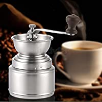 ELECTROPRIMEÃ'® Portable Ceramic Burr Manual Coffee Grinder Hand Crank Coffee Bean Mill