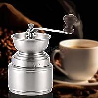 ELECTROPRIMEÃ'® Portable Ceramic Burr Manual Coffee Grinder Hand Crank Coffee Bean Mill