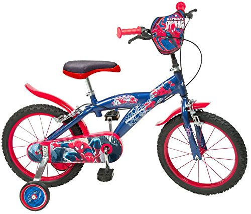 "16 16""Zoll Kinderfahrrad Kinder Disney Jungen Fahrrad Rad BMX Spiderman Bike ES"