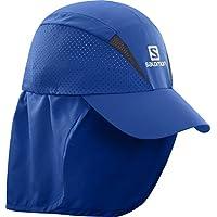 Salomon Unisexe Casquette avec Protège-nuque Amovible, XA+ CAP