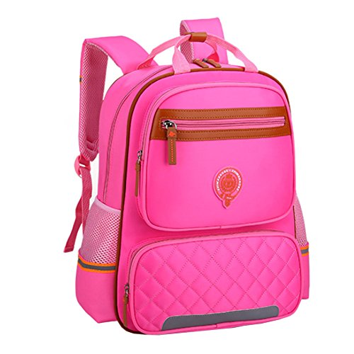 Uniuooi Primary School Backpack Book Bag for Boys Girls 5-12 years old  Waterproof Nylon Schoolbag Travel Rucksack (Small 4d01a89834678