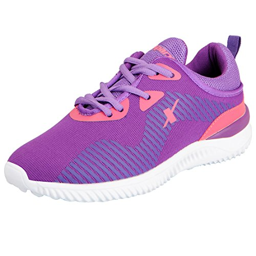 Sparx Women's Purple White Running Shoes