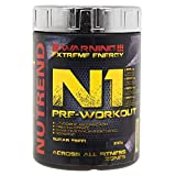 NUTREND N1 Pre Workout red orange, 510 g
