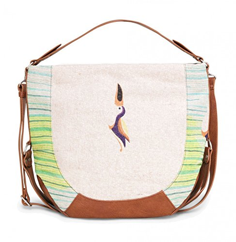 Tropical Desigual Borsa Fly marfil