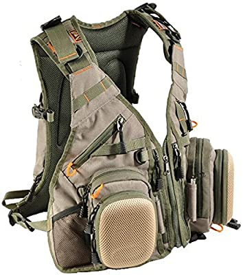 Fly Fishing Vest Pack Airflo Outlander fly vest & 15 litre backpack from Airflo