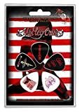 MOTLEY CRUE RED, WHITE & CRUE Plectrum Pack