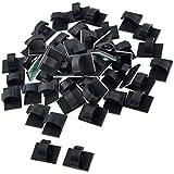 100 st ken kleben draht kabel halter binder. Black Bedroom Furniture Sets. Home Design Ideas