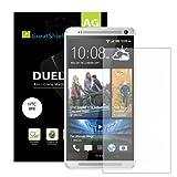 Best HTC NUOVO sbloccato Cellulari - GreatShield DUEL Mark II Screen Protector for HTC Review