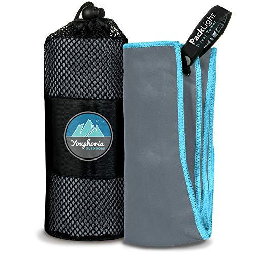 youphoria deporte toalla y viajes Toalla-Super absorbente y de secado rápido. Camping, playa, piscina, gimnasio o baño. 100% garantía de satisfacción.