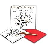 Die besten Fly Papers - Flying Wish Paper - IT FLIES! Your Deepest Bewertungen