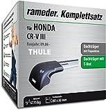 Rameder WingBar Edge Dachträger Beam komplett-Set für Honda CR-V III (119043â 06247â 1)