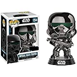 POP! Bobble - Star Wars: Rogue One: Imperial Death Trooper Chrome (Exc)