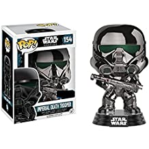 Star Wars Rogue One - Imperial Death Trooper (Chromed) Vinyl Bobble-Head 154 Sammelfigur