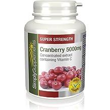 Cranberry (Canneberge) 5000mg 360 Comprimés | Prévention des Infections Urinaires | Fabriqué au Royaume-Uni