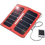 15W Panel Solar cargador portátil plegable de 2port USB Solar Charger para iPhone, iPad, Samsung y otros dispositivos digitales